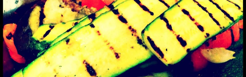 LA Food and Wine + Miso Salad with Miso Grilled Veggies = Y.U.M.