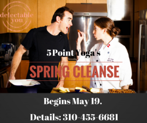 Join the 5 Point Yoga Cleanse! Starts May 19, 2015. Sign up today!
