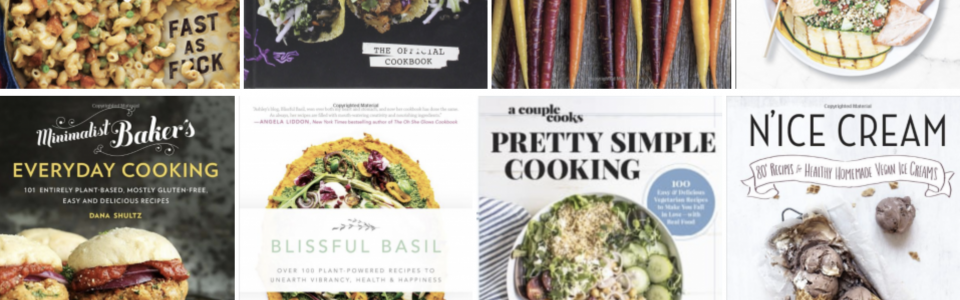 Healthy Holiday Gift Giving: My Top 10 Most Favorite Vegan Cookbooks