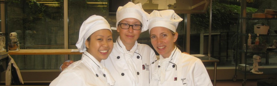 My first day of pastry school!